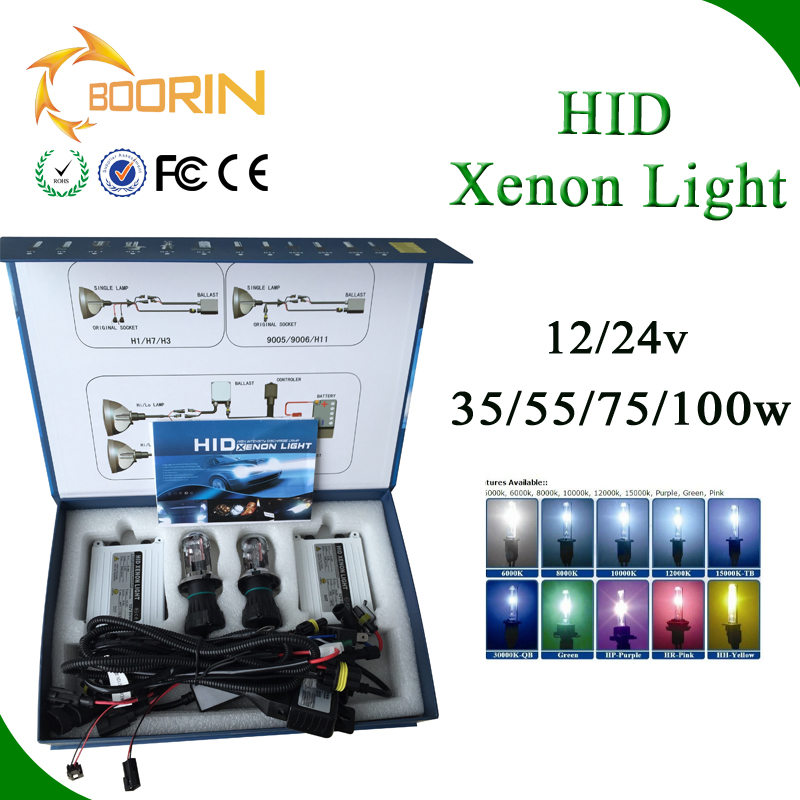 Hi and Low conversion kit HID Xenon 6k8k 35W55W100W h4-1 h4-2 h4-3 D1S D2S D3S 9004 9005 880 881HB3 H7 9004 moto hid xenon light