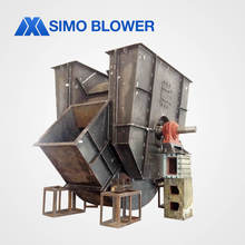double inlet clay sand rotary kiln centrifugal blower fan