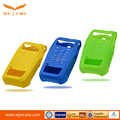 customized walkie talkie silicone protective case with printing