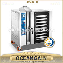 HGA-12 12 Pans Stainless Steel Gas Convection Oven
