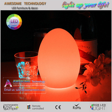 wireless remote controlled led decoration for christmas party
