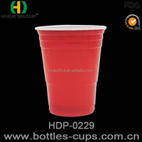 Made in China 16oz 18oz cheap disposable plastic red solo cups wholesale /Beer pong cups for party