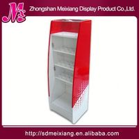 rotating wooden display stand, MX7943 4 way clothes display rack