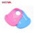 Comfortable Soft Easy To Clean Waterproof Feeding Baby Bibs Custom Silicone Roll Up Bib