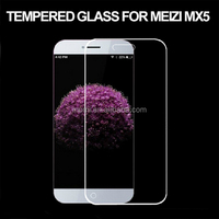 factory anti smudge screen protector for Meizu MX5 tempered glass screen protector
