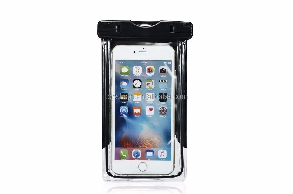 Mobie Phone Clear Universal Waterproof Bag Case with Lanyard Protective Wallet Bag Dirtproof Snowproof Pouch Dry Bag For iPhone