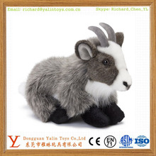 Cute plush material type goat plush toy stuffed animal goat toy