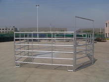 galvanized flexible cattle paddock fence