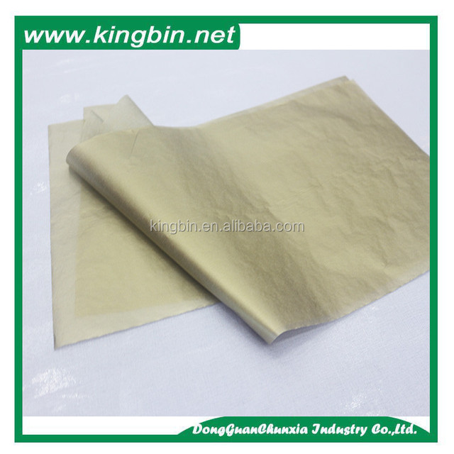 Wholesales metallized paper MF Acid free Tissue Paper for wrapping shoes