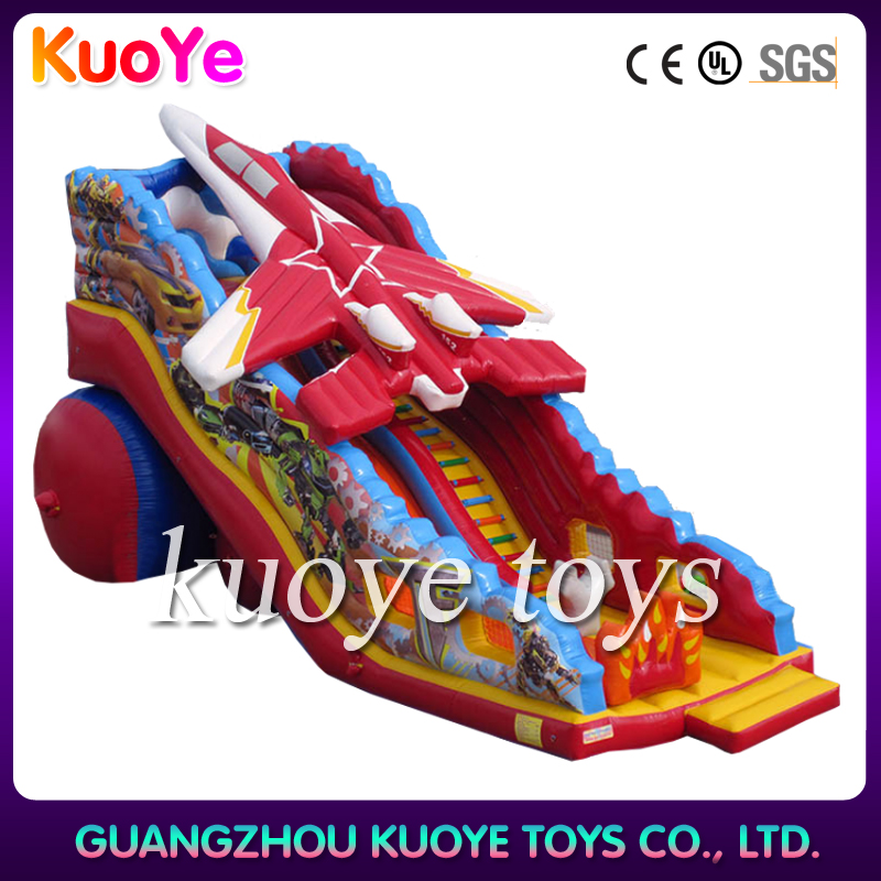 inflatable rokey slide,character inflatable slide,jump and slide inflatables