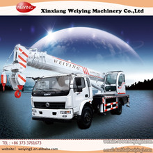 China Brand 10 Ton Telescopic Crane Mounted On Truck With Good After Sale Service