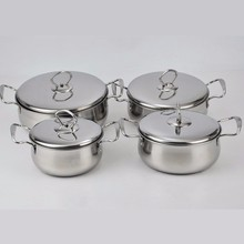 portable outdoor camping cookware set with pot & pan for kitchen