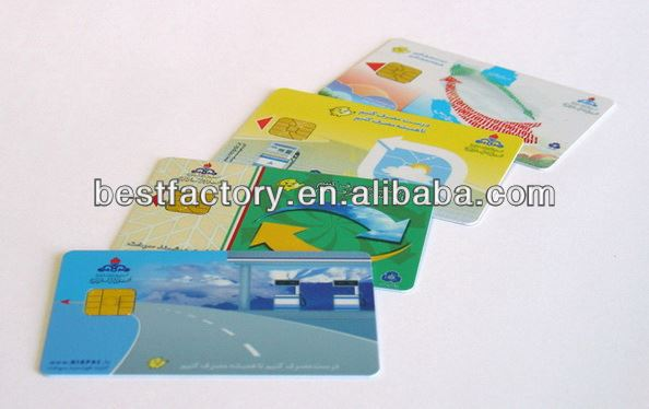 Best guarantee facility! plastic personal information card