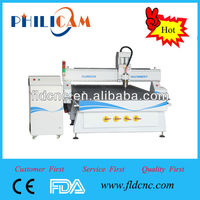 China high accuracy Jinan lifan PHILICAM 1325 cnc mini wood lathe