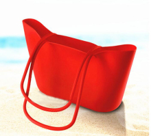 Summer silicone beach bag,fashion candy handbag,silicone handbag