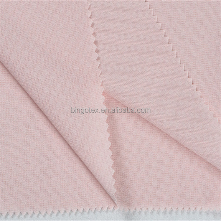 Round Dot Jacquard Woven 100% Polyester Microfiber Fabric