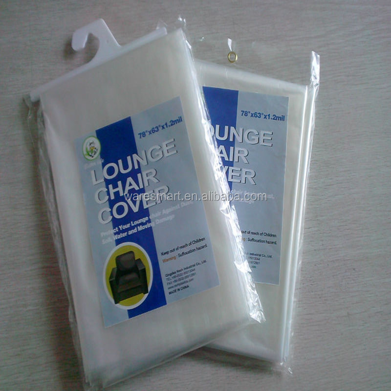 LDPE printing chair bags