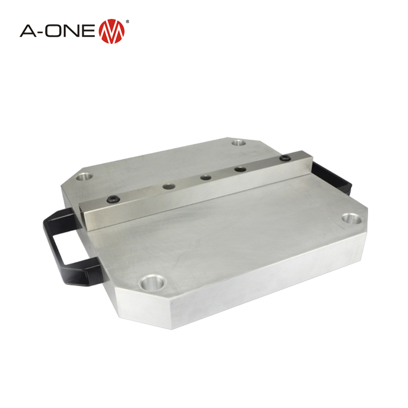 A-one Erowa Aluminum Upc Pallet for automatic robot machining