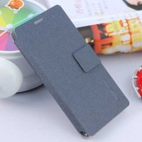 ultrathin flip wallet leather case for huawei ascend p6