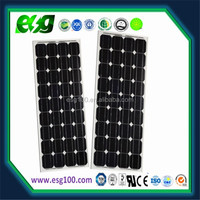 Custom Design 100w Monocrystalline solar panels for solar system