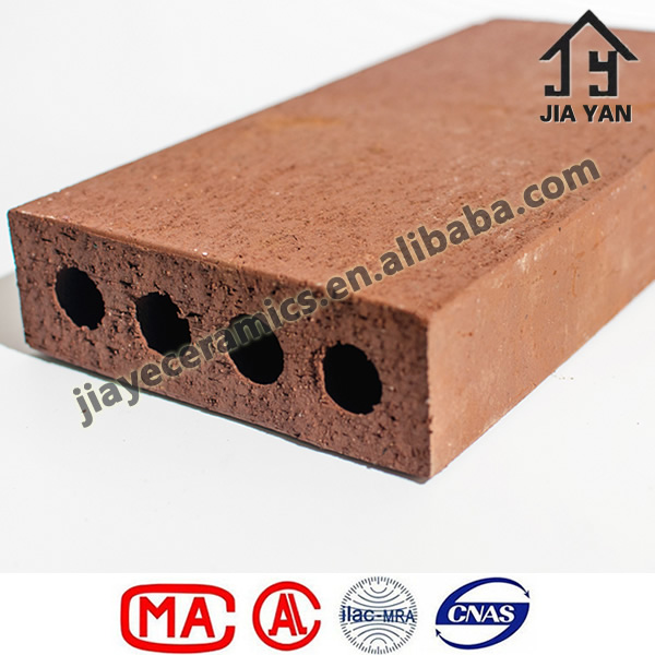 Outdoor road paving bricks, perforated plaza bricks