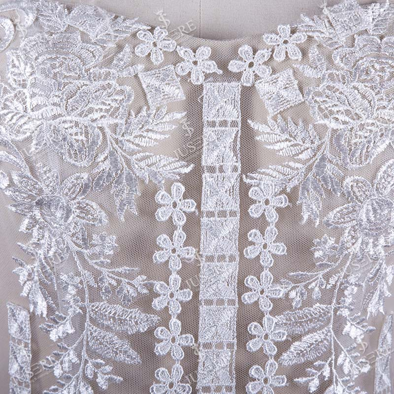 Bohemian Style Sweetheart Neck Lace Appliqued Lace Mermaid Wedding Dress Real Sample Bridal Wedding Dress 2016