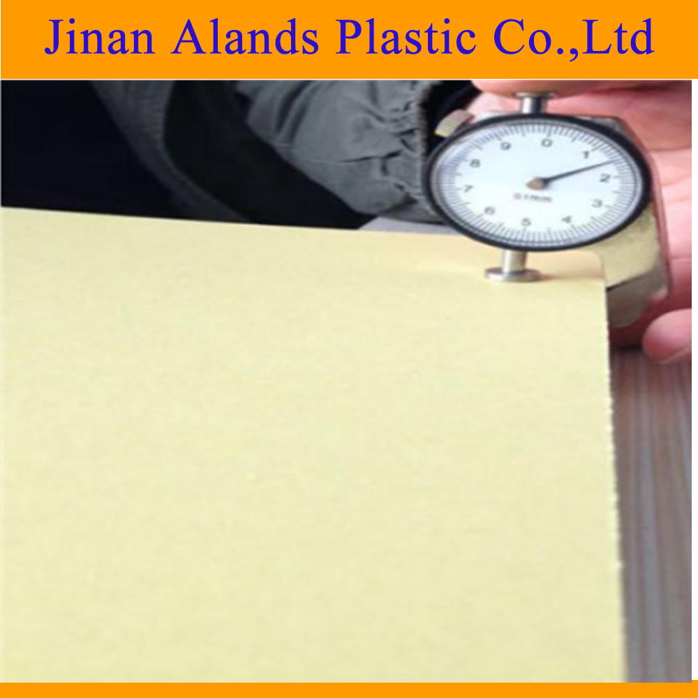 Double sides self adhesive PVC sheet for photo book , album inner pages