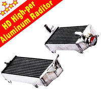 Alumium Alloy motorcycle Radiator For HONDA CR250 silicone radiator hose KIT 97 98 99