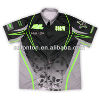 dye sublimation racing team suits