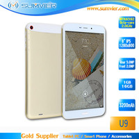 8.0 inch 1280x800 IPS MTK6592 Octa Core Metal Back Cover Android Tablet