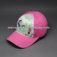 CUSTOM CHILDREN DIGITAL PRINTING CAMPER BASEBALL CAP MAKING MACHINE