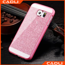 glitter phone case for samsung galaxy S5 light weight plastic cell phone case