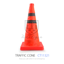 Emergency Flexible Used Traffic Cone With Rubber Base And Safety Cone Traffice Cone