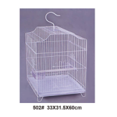High quality plastic wire cage foldable pet cage bird cage accessories