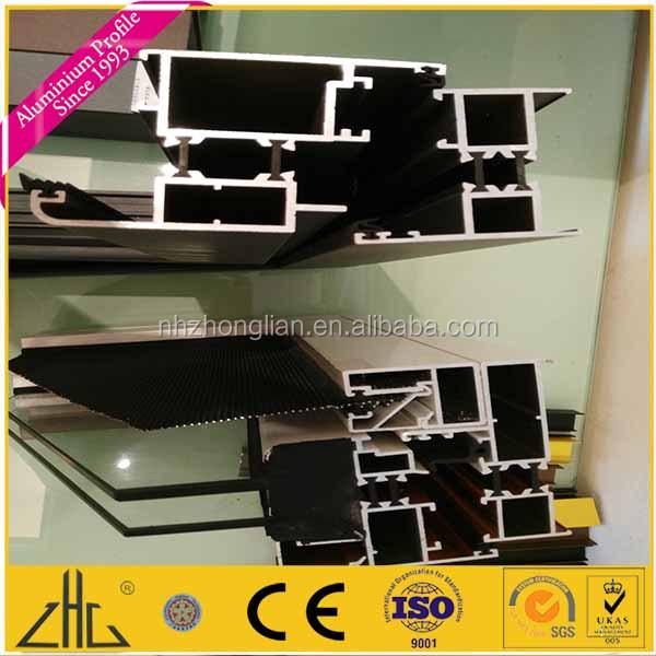Telaio in alluminio anodizzato profilo a buon mercato for Porta finestra alluminio prezzo