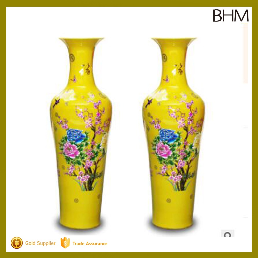 List manufacturers of floor vase buy floor vase get discount on 2016 factory sales 90 140cm tall chinese antique large ceramic floor vases for home decor reviewsmspy