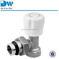 Angle Radiator Valves with ABS Handle
