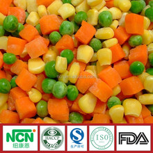 Frozen vegetables and fruits IQF vegetables