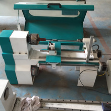 Easy to operate large gallery mini automatic cnc wood lathe