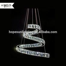 Top sell hot-selling led modern acrylic pendant light up down side led pendant light