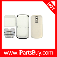 Mirror + Keyboard + Frame + Battery Cover for BlackBerry 9000, Set Replacement for BlackBerry
