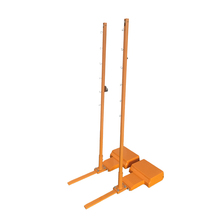 High quality Mobile cast iron badminton net stand badminton post for sale gym equipment