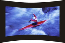 Curved Projection Screen Nice Clear Picture Show Frame Projector Screen
