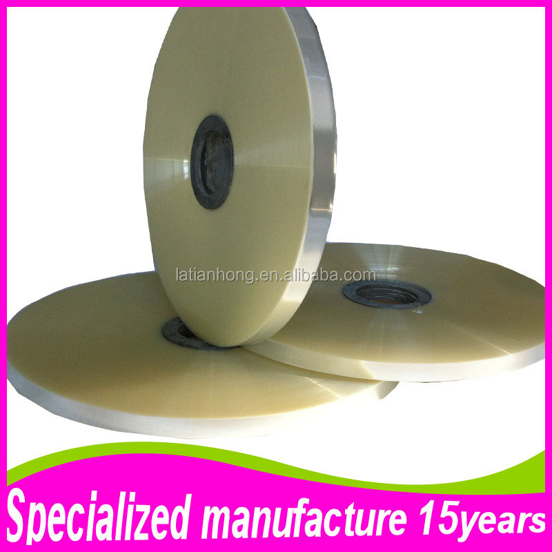 th 1031 White Transparent Polyester BOPET Film For Cable and Wire