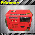 Best Seller!!! Max.Current 190A Open/Silent 5KW diesel welder generator avr