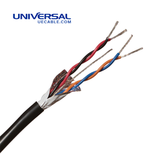 BS 5308 Part 1 Type 1 Single- & Multi-Pair, XLPE-Insulation, Collective Screen, PVC-Sheath LSZH Instrumentation Cable
