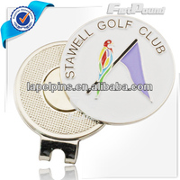 Golf Magnetic Cap Clip with Ball Marker