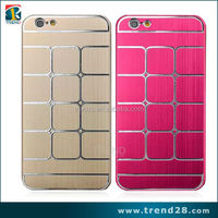 Top selling aluminum metal cover case for iphone 6