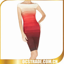 2013 New Summer Bandage Ombre Dress