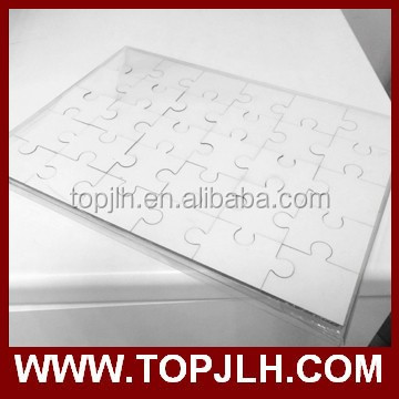 Blank square sublimation MDF jigsaw puzzle